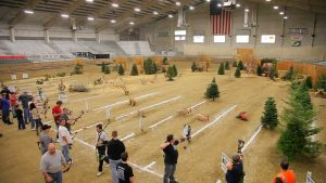 Tri-Cities Sportsmen Show 3D Archery Range