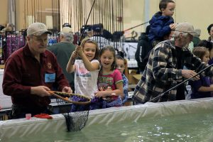 Wenatchee Valley Sportsmen Show Lunker Lake Fishing